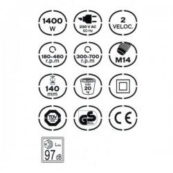 Malaxer Électrique 1400W - VITO