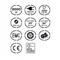 Scie Circulaire à Table 2000W - VITO