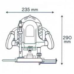 Défonceuse 1200W - VITO