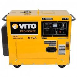 Groupe électrogène monophasé diesel 5 kVA silencieux