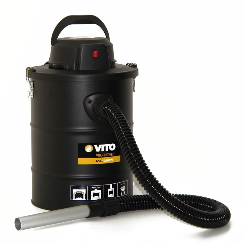 Aspirateur / souffleur cendres 1000W