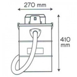 Aspirateur / souffleur cendres 1200W