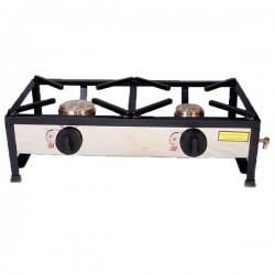 Table de cuisson à gaz autoportante 60x30 2 foyers