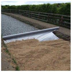 Géotextile - Rouleau tissu de bidim 200 gr/m² Rlx 1x50 m