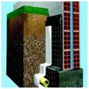 Géotextile - Rouleau tissu de bidim 250 gr/m² Rlx 2x100 m