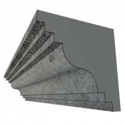 Moule polystyrène corniche Modèle P4