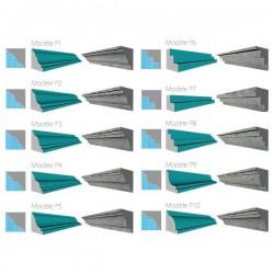 Moule polystyrène corniche Modèle P6