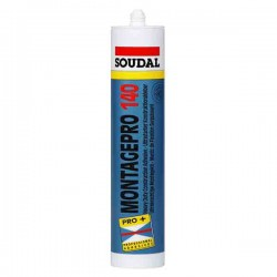 Silicone MONTAGEPRO 140 blanc - SOUDAL