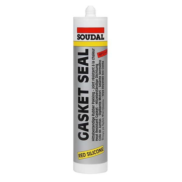 Mastic silicone gasketseal bordeaux- SOUDAL