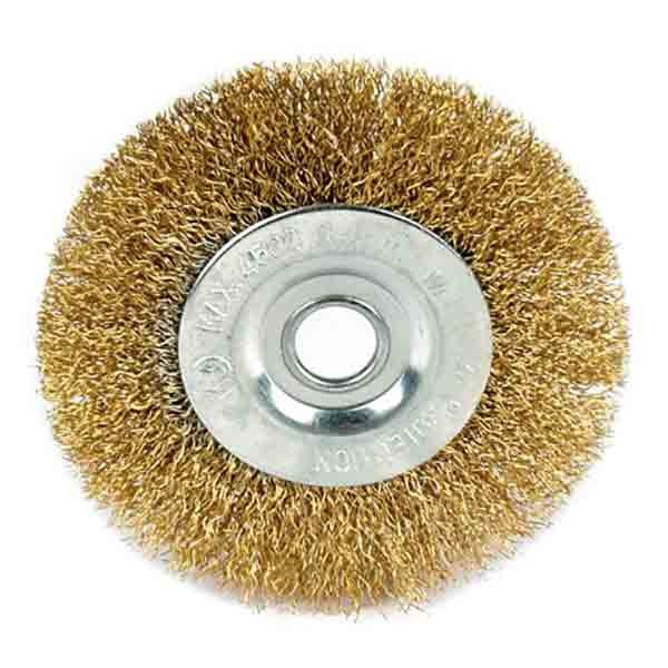 Brosse circulaire haute vitesse de toration - 100mm