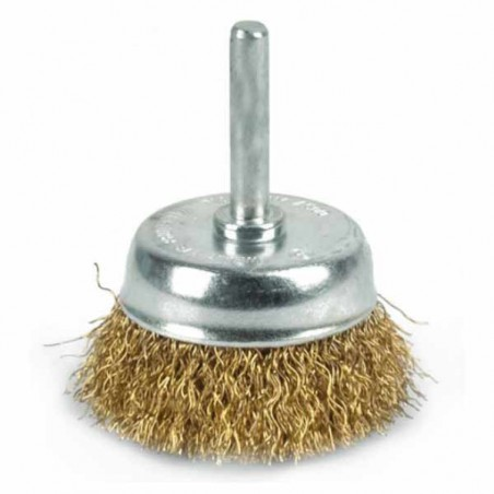 Brosse soucoupe perceuse - 75mm