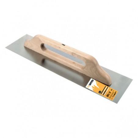Platoir lisse en acier - 500 x 130 mm