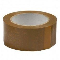 Ruban adhésif polypropylène silencieux havane 48x60