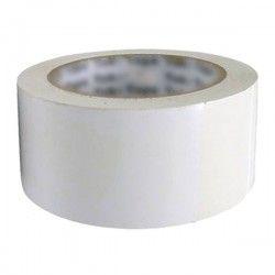 Ruban adhésif polypropylène silencieux blanc 48x60