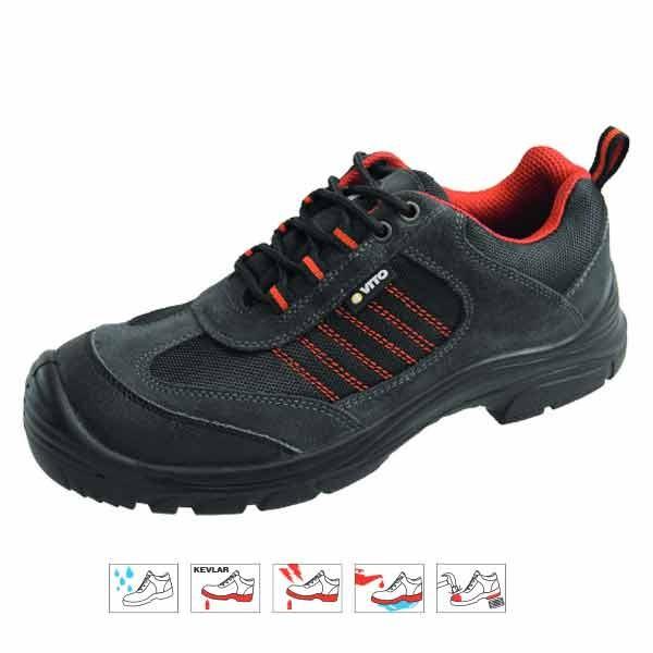 Chaussure sécurité SPORT modéle basse Kavlar - VITO