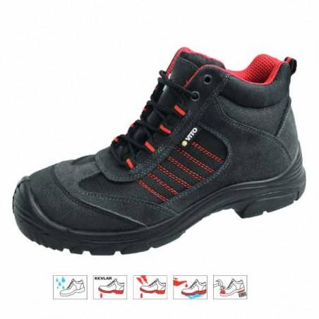 Chaussure sécurité SPORT modéle haute Kavlar - VITO