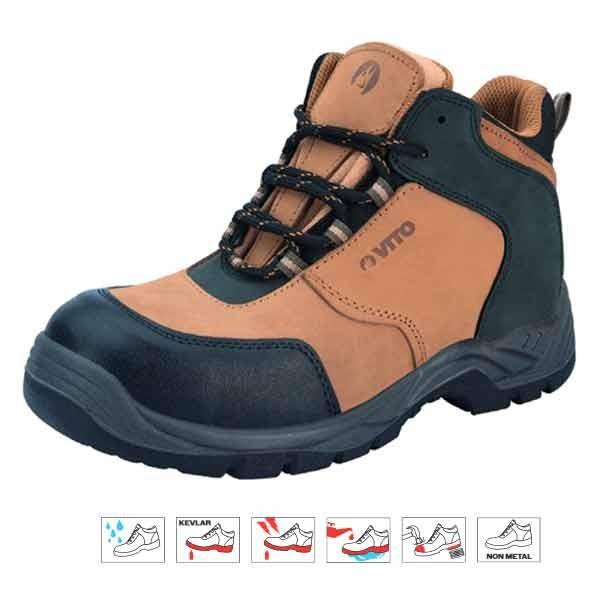 Chaussure sécurité haute Everset Kevlar - VITO