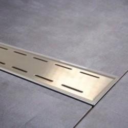 Caniveau douche à l'italienne Inox-PVC