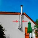 Collier 40mm Appui Réglable 4/8cm Inox