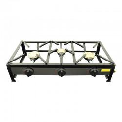 Table de cuisson à gaz autoportante 80x40 3 foyers