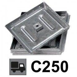 Couvercle de regard à carreler renforcé C250 30x30