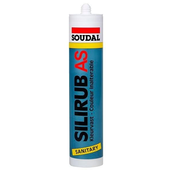 Silicone-Mastic Acétique SILIRUB S - SOUDAL