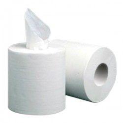 Papier essuies mains blanc 100 mètres