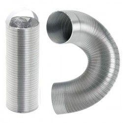 Gaine aluminium compact diamètre 100