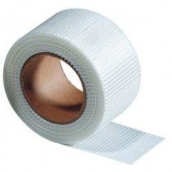 Banda à joint et à fissure en fibre de verre auto-adhésif 5 cm x 153 m