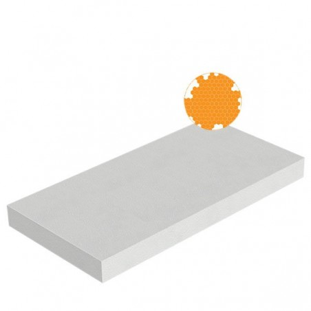 Plaques polystyrène expansé PSE densité 12kg/m3 1000x500x20 mm
