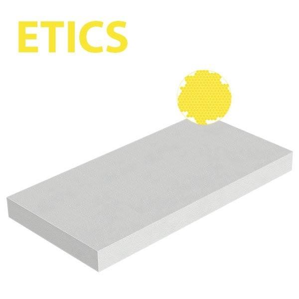 Plaque polystyrène expansé EPS ETICS 20kg/m3 1000x500x50 R 1,39