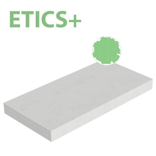 Plaque polystyrène expansé PSE ETICS+ 25kg/m3 1000x500x40 R 1,18