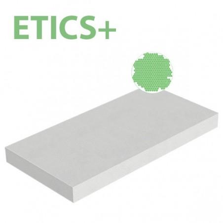 Plaque polystyrène expansé EPS ETICS+ 25kg/m3 1000x500x100 R 2,94