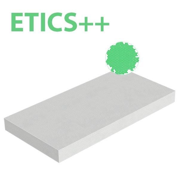 Plaque polystyrène expansé EPS ETICS++ 30kg/m3 1000x500x50 R 1,52