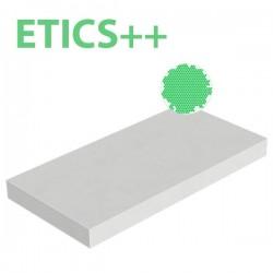 Plaque polystyrène expansé EPS ETICS++ 30kg/m3 1000x500x80 R 2,42