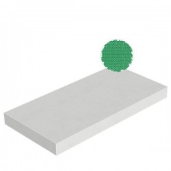 Polystyrène expansé PSE densité 30kg/m3 1000x500x20 mm