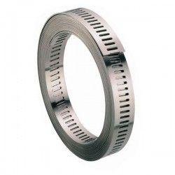 Bande sans fin Inox pour collier sur mesure 9mm