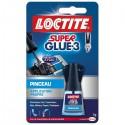 Colle instantanée - Loctite - SuperGlue-3 - PINCEAU