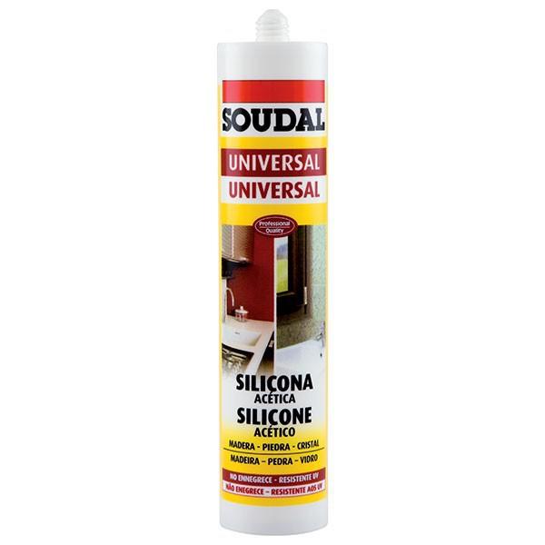 Silicone-Mastic Aluminium SILICONE U - SOUDAL