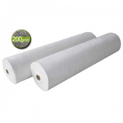 Géotextile - Rouleau tissu de bidim 200 gr/m² Rlx 2x100 m