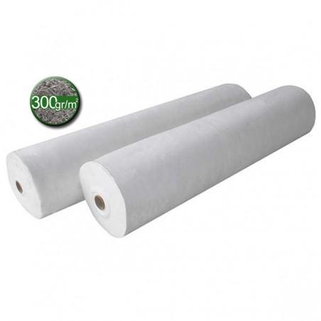Géotextile - Rouleau tissu de bidim 300 gr/m² Rlx 2x100 m