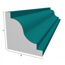 Moule polystyrène corniche Modèle P2