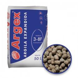 Granulats billes d'argile expansée 6,3 - 12,5 mm sac 50L