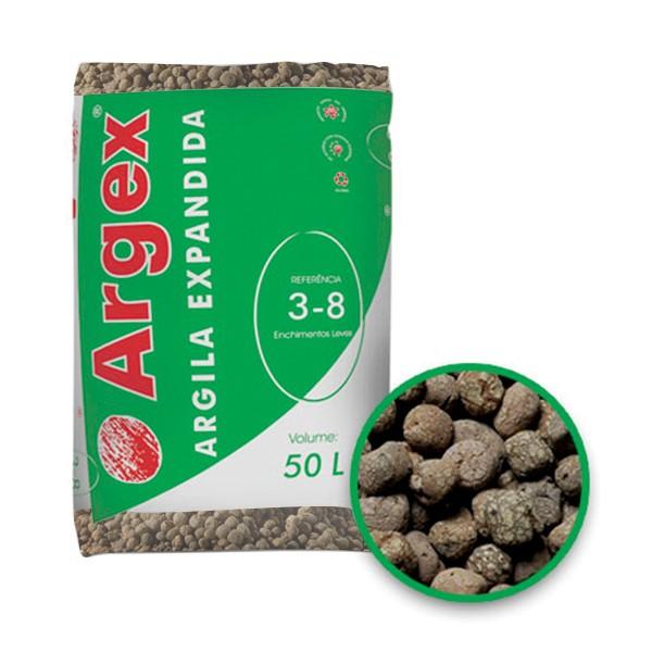 Granulats d'argile expansée FLORA 8 - 12,5 mm sac 50L