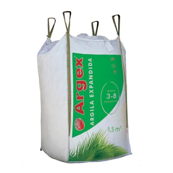 Granulats d'argile expansée FLORA 8 - 12,5 mm big-bag 3 m3