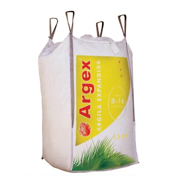 Granulats d'argile expansée FLORA 8 - 16 mm big-bag 1,5 m3