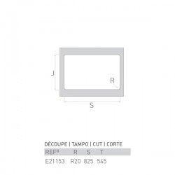 Évier RIVIÈRE 840X560