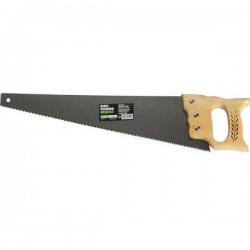 Scie charpentier manche en bois lame 500 mm