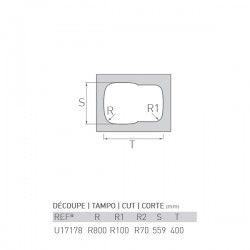Évier OCÉAN 600X440