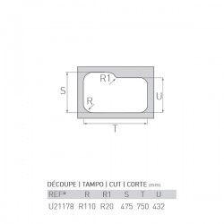 Évier OCÉAN 797X450